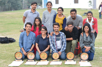 Prizes received by college in Arts Events