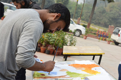 T-shirt Painting competition