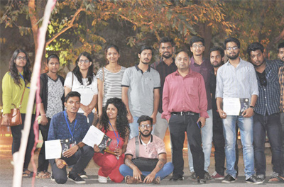 AKGEC states team at IET Lucknow