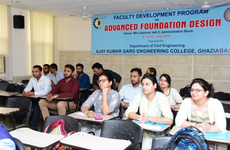 FDP on Advanced Foundation Design 08-12 July
